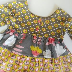 Jelly The Pug Dresses - Jelly The Pug Indian Summer Cameron Flare Dress 4T